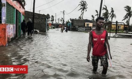 Cyclone Eloise brings floods to Mozambique's second city Beira