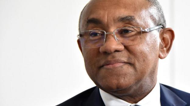 Confederation of African Football president Ahmad