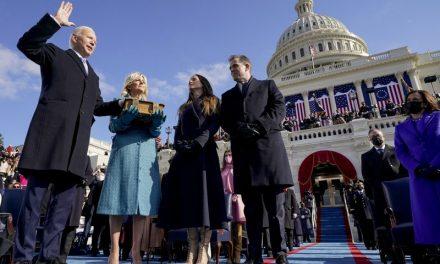 Joe Biden takes the helm as 46th US president