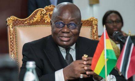 Ghana's President Akufo-Addo sworn in for second term