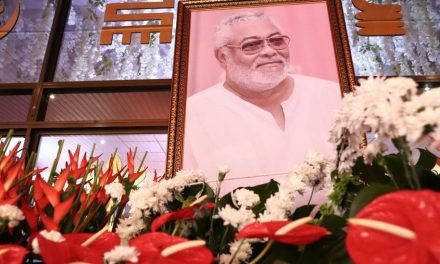 Ghana's former President Rawlings laid to rest
