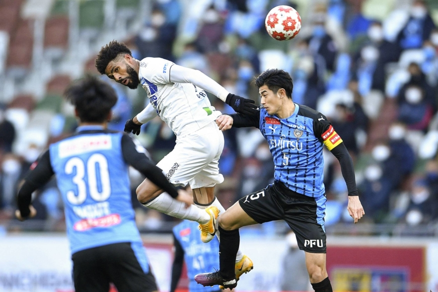 Frontale defeats Gamba in Emperor's Cup final to complete double