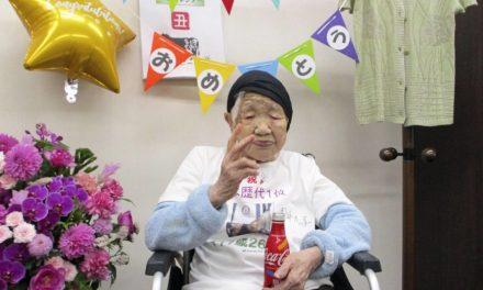 World's oldest person marks 118th birthday in Fukuoka