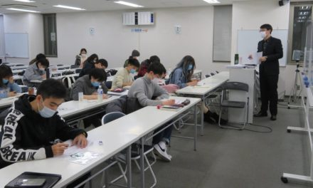 Tokyo school for Chinese students undeterred by COVID-19 hardships