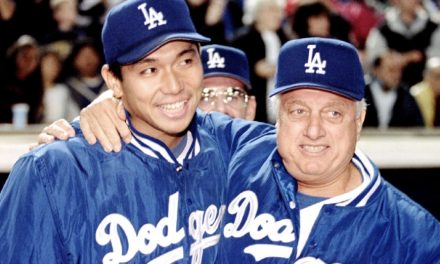 Hideo Nomo reacts to death of legendary Dodgers manager Tommy Lasorda