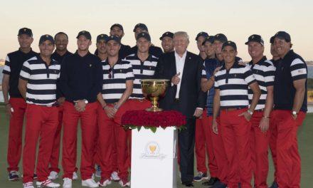 Golf distances itself from Trump