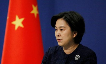 China to sanction U.S. officials for 'nasty behavior' over Taiwan