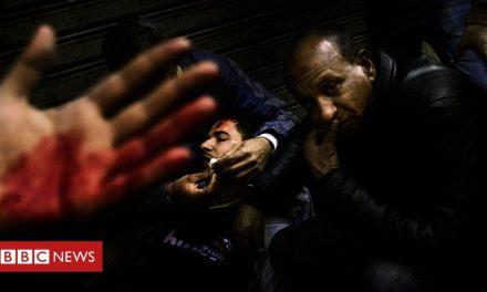 Egypt's revolution: 'The roar of the crowd shook my feet'