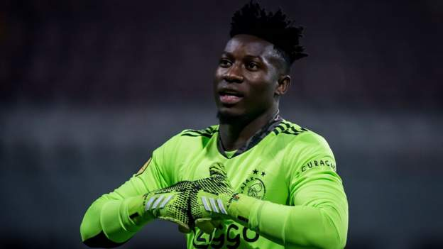 Andre Onana: Cameroon and Ajax keeper has doping ban reduced