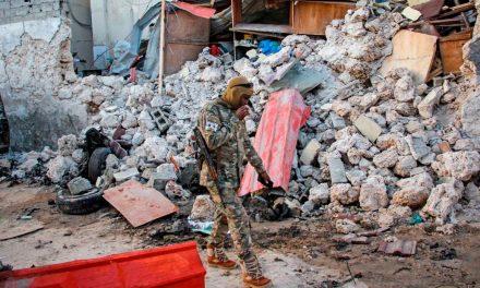Five dead in Mogadishu hotel car bomb attack