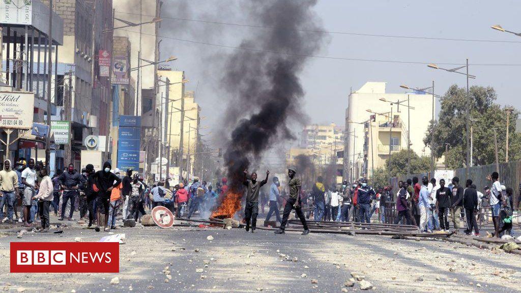 Senegal protests after opposition leader Ousmane Sonko arrested