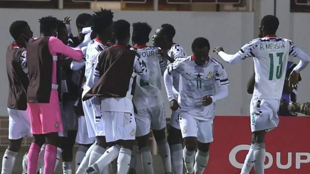 Ghana sink Uganda to win fourth African Under-20 title