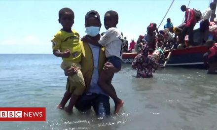 Hungry, angry and fleeing the horrors of war in northern Mozambique