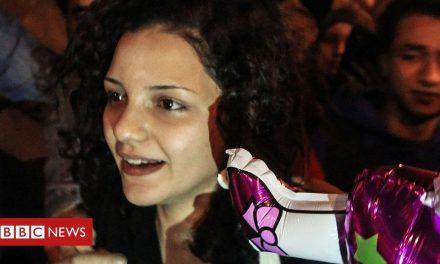 Sanaa Seif: Egypt rights activist jailed for 'spreading false news'