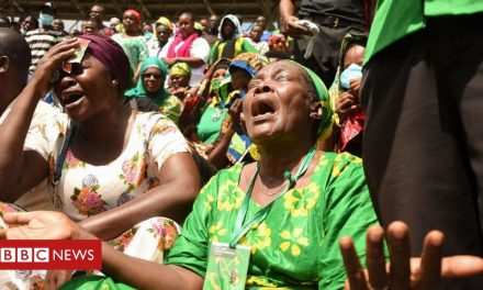 Mourners line Tanzania streets at ex-President Magufuli funeral