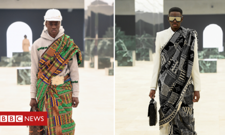 Letter from Africa: Kente – the Ghanaian cloth that's on the catwalk