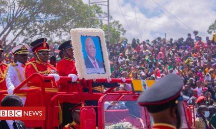 John Magufuli: African leaders mourn former Tanzania president