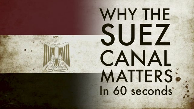 Why is the Suez Canal a big deal? Explained in 60 secs