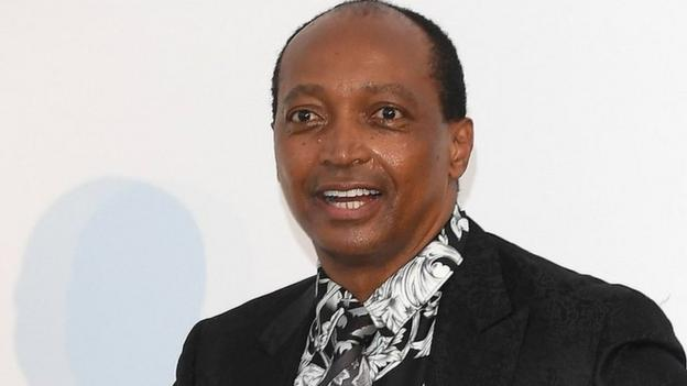 Patrice Motsepe of South Africa