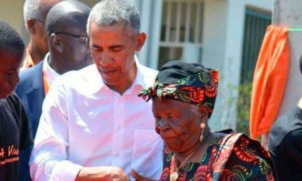 Obama's Kenyan grandmother dies aged 99
