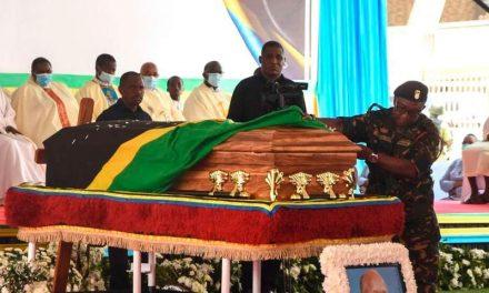 Tanzanians pay respects to late President John Magufuli