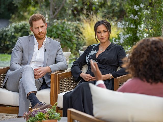 """Meghan says she """"didn't want to be alive any more"""""""