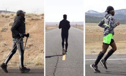 Hellah Sidibe: Former MLS player running 3,000 miles from California to New York