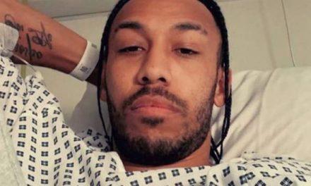Pierre-Emerick Aubameyang: Arsenal forward treated in hospital for malaria