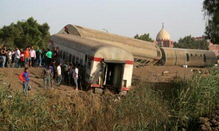 Egypt train crash: At least 11 killed in derailment