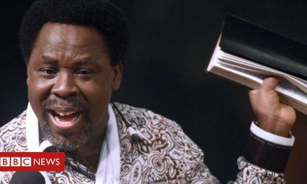 TB Joshua: YouTube deletes Nigerian preacher's account over gay cure claim