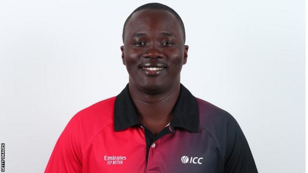 Zimbabwean cricket umpire Langton Rusere