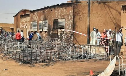 Niger: Fire kills 20 school children trapped in classrooms