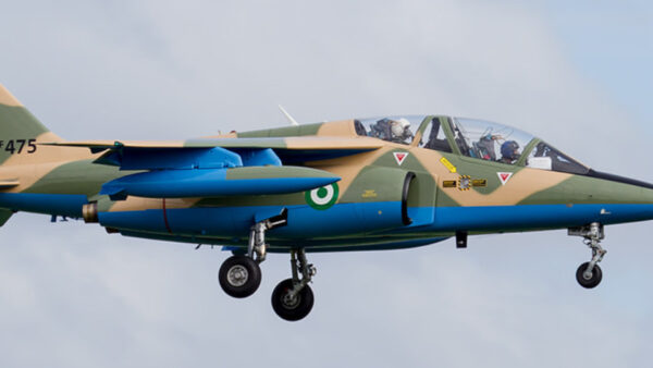 Nigerian Air Force says missing jet may 'have crashed'
