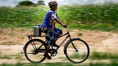 How a bicycle tripled one woman's income