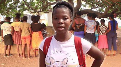 Sierra Leone: Mabinty's mission to stop teen pregnancies
