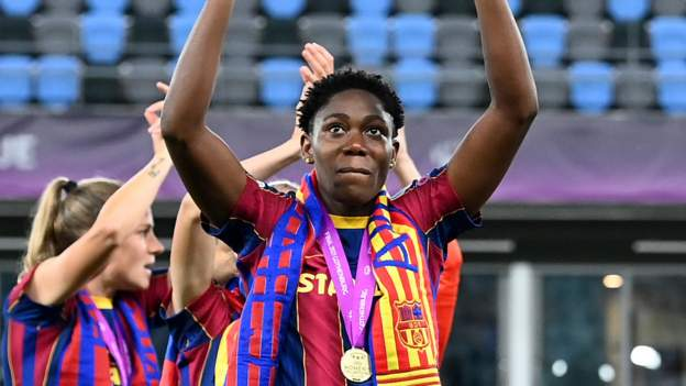 Asisat Oshoala: African history maker thrilled by Champions League win