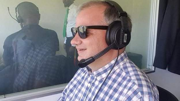 Dean du Plessis: The first visually impaired commentator to cover international cricket