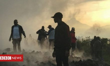Mount Nyiragongo: Volcanic eruption in DR Congo leaves people homeless