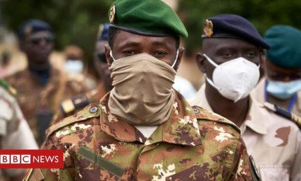 Mali coup: Col Goïta seizes power – again