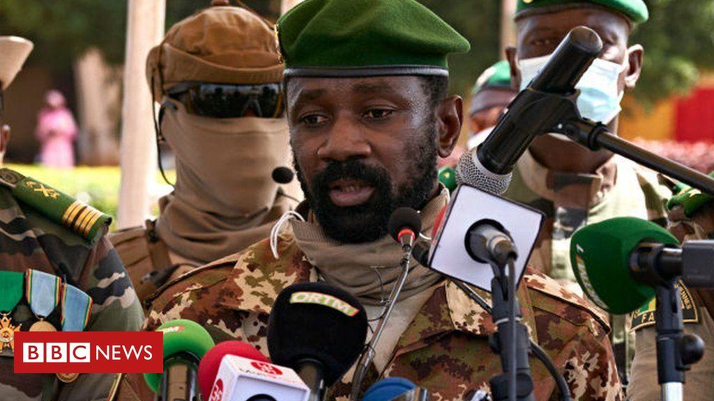 Mali's coup leader Assimi Goïta declares himself president