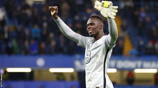 Chelsea and Senegal keeper Edouard Mendy