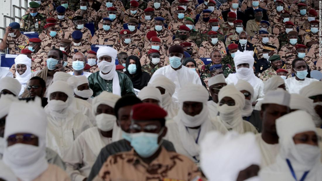 Thousands mourn Chad's Idriss Deby, rebels say their command hit by airstrike