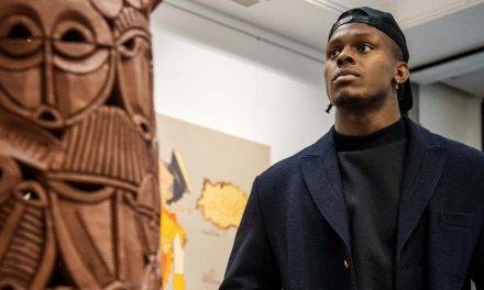 England rugby star Maro Itoje is showcasing 'untold' Black history through an art exhibition