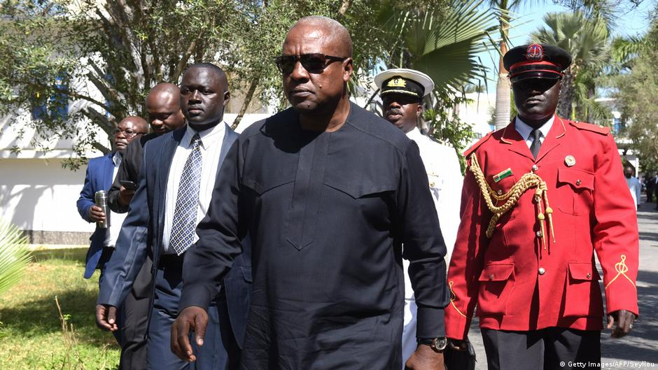 Ghana's ex-president Mahama named AU Special Envoy to Somalia