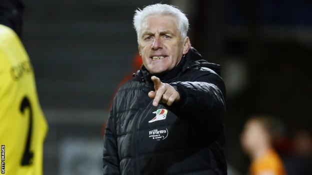 Belgian coach Hugo Broos