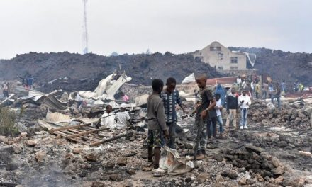 DR Congo: Many left homeless amid volcanic eruption