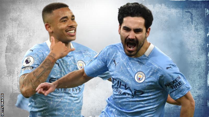 Manchester City win English Premier League title
