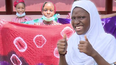 Adire: Teenagers upholding the ancient art of 'tie and dye' in Nigeria