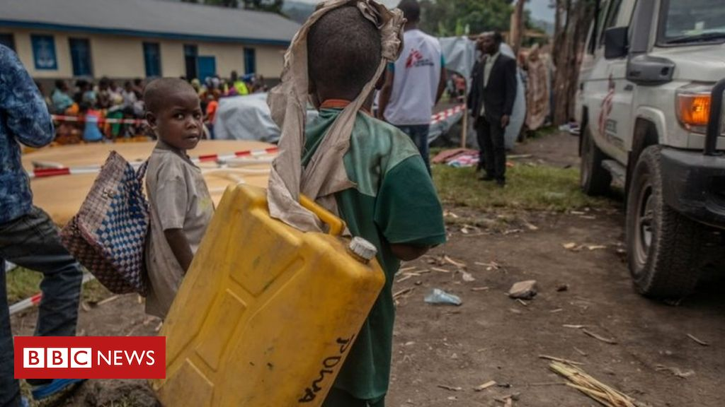 Mount Nyiragongo: Half a million without water in DR Congo – charity