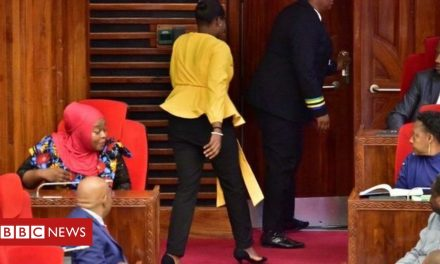 Tanzanian MPs demand apology for 'tight' trousers incident